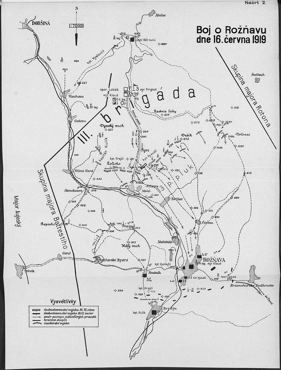 Boj o Rožňavu 1919