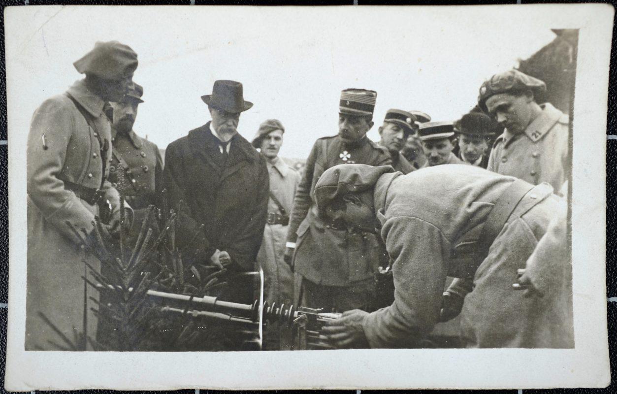 Československí legionári a Masaryk, 1918