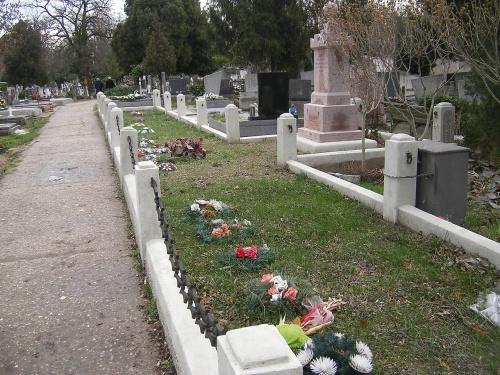 Hroby Maďarov v Komárne z roku 1919